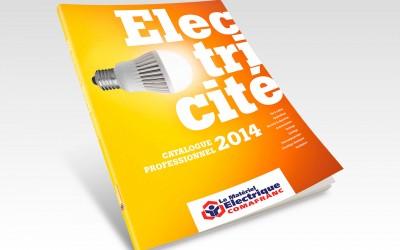 Couverture catalogue Le matériel Electrique de Comafranc