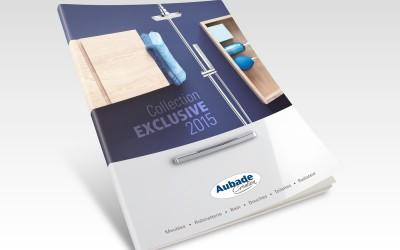 Couverture catalogue Aubade Création 2015