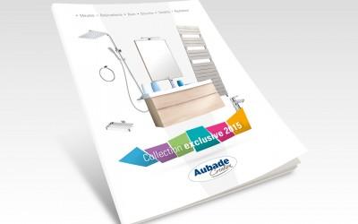 Proposition de couverture catalogue Aubade Création 2015