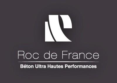 Identité de marque Roc de France