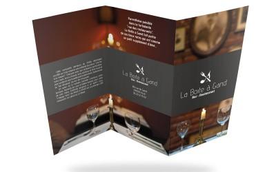 Brochure boîte à Gand