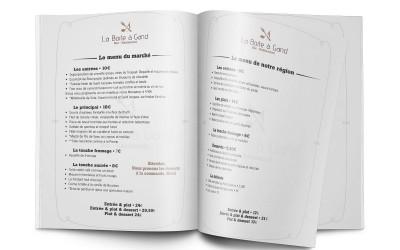 menu Boîte à Gand